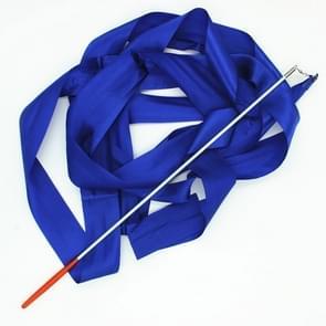 5 PCS 4 m Artistic Color Gymnastics Ribbon Dance Props Children Toys(Blue)