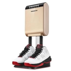 190W Intelligent Electric Shoes Dryer Sterilization Anion Ozone Sanitiser Telescopic Adjustable Ultraviolet Shoe Sterilizer(Gold)