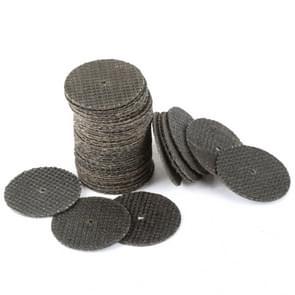50 PCS 32mm Cutting Discs Resin Fiber Cut Off Wheel Discs for Rotary Tools Grinding Abrasive Tools