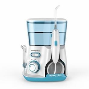 Waterpulse V300 800ml Oral Irrigator Dental Flosser Oral Hygiene Water Flossing Cleaner, Plug Type:US(Green)