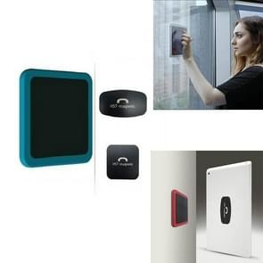 Muur gemonteerde iPad magnetische adsorptie universele sticker mobiele telefoon muurbeugel (blauw B)