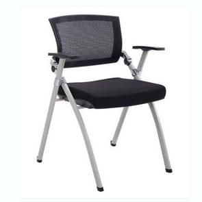 Office Chair Mesh Staff Chair Removable Folding Conference Chair(without Tablet without Wheels)