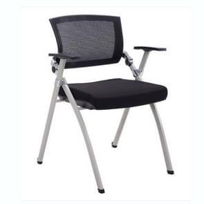 Bureaustoel mesh personeel stoel verwisselbare vouwen conferentie stoel (zonder Tablet zonder wielen)