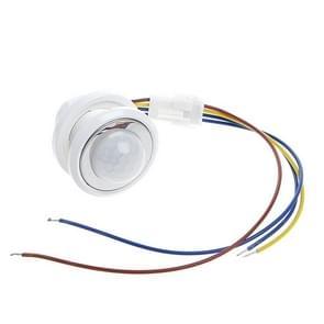 40mm LED PIR Detector infrarood beweging Sensor schakelaar met regelbare vertraging