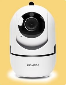 HD Cloud Wireless IP Camera Intelligent Auto Tracking Human Home Security Surveillance Network WiFi Camera, Plug Type:UK Plug(720P White)