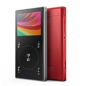 Original FIIO X3 Mark III Audio Balanced Bluetooth 4.1 DSD Portable High Resolution Digital Audio Player(Red)