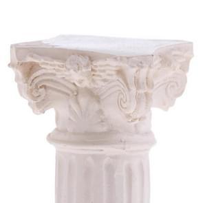 For Garden Diorama Yard Scenery Decor Resin Roman Column Pillar Model