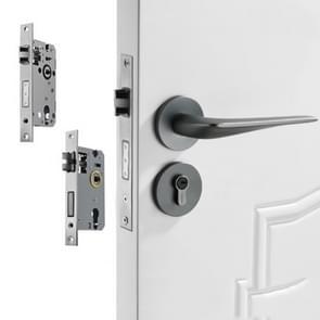 Space Aluminium Indoor Mute Split Lock Slaapkamer Solid Handle Houten Deur Hardware Lock  Style: Standaard 58 Mute Lock Body