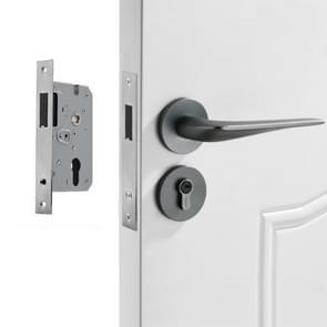 Space Aluminium Indoor Mute Split Lock Slaapkamer Solid Handle Houten Deur Hardware Lock  Stijl: High 58 Magnetic Lock Body