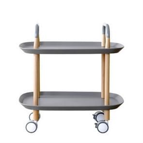 Fashion Kitchen Trolley Nordic vereenvoudigd zitkamer geschikt voor Mobile Sofa Home Multifunctionele Dining Car (Grijs)