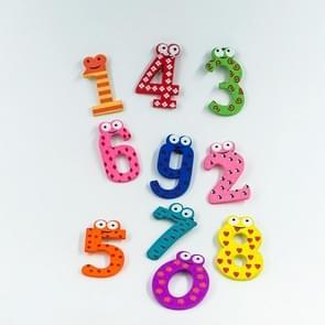 2st/set Baby nummer koelkast magnetische figuur Stick wiskunde houten educatieve Kids speelgoed