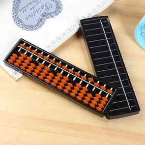 Plastic Abacus 15 Digits Arithmetic Tool Math Learn Aid Caculating Toys Gifts for Kids