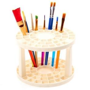 Paint Brush Pen Holder 49 Holes Pen Rack Display Stand