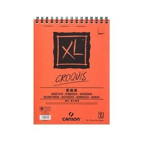 Professional Watercolor/Sketch Paper Water-soluble Book A5 148 210mm Orange