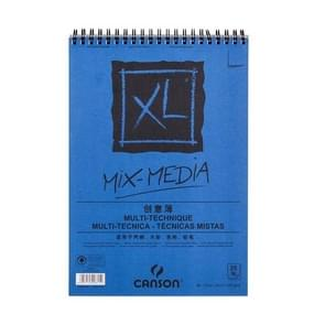 Professional Watercolor/Sketch Paper Water-soluble Book 16k 195 270mm blue