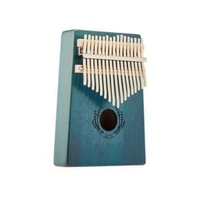 Suzuran Carimba 17 Noten Duim Piano Beginner Finger Piano Muziekinstrument (Blauw)