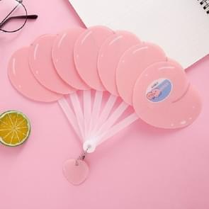 2 PCS Cartoon Fruit Fan Cool Folding Fan in de zomer (Perzik)