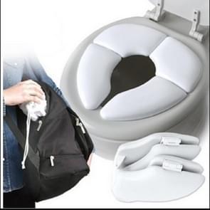 5 PCS Soft Skin-Friendly Children Folding Potty Seat Cover Baby Travel Folding Padded Toilet Seat Toilet Training