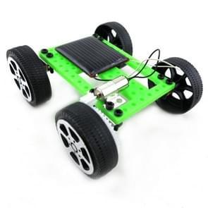 Mini Solar Powered Toy Car DIY Kit  Educational Funny Model