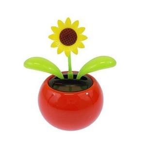 Zonnebloem groot zonne-Toy Mini dansen bloem als geschenk of auto decoratie  willekeurige kleur voor levering