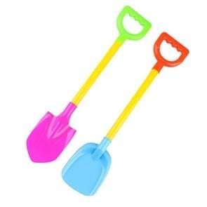 2 stuks/set zandstrand zandstrand schop speelgoed kinderen gekleurde plastic schop model voor kinderen buiten sneeuw schop strand Dune tool speelgoed