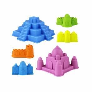 Zand zuidstrand kasteel Model Kids strand kasteel Water Tools speelgoed zand spel grappig speelgoed Kits voor kinderen  de willekeurige kleur voor levering