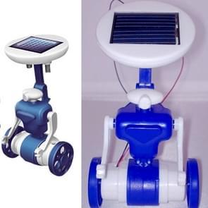 3PCS DIY Solar Puzzle Toys 6 in 1 Educational Solar Power Kits Novelty Solar Robots for Kids