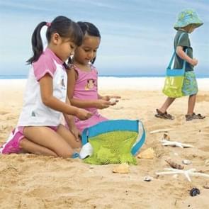 Duurzaam bedrijf speelgoed ballen Beach Mesh Tote Bag Beach zwemmen zak kinderen zand tas
