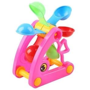2st windmolen waterrad zomer Water Swimming Pool badstrand zand voor het graven van Tools Kids speelgoed