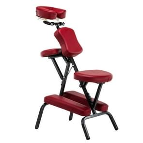 Portable Folding Adjustable Massage Chair Tattoo Scraping Chair Beauty Bed with Armrest