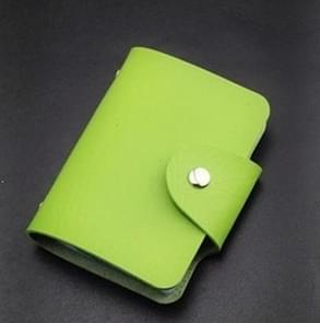 Multi-card Anti-degaussing Card Set Credit Card Bag Card Holder(green)