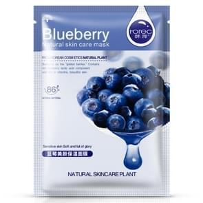 3 stuks huidverzorging plant gezichtsmasker vochtinbrengende oliecontrole mee-eter Remover verpakt masker gezichtsmasker gezichtsverzorging (Blueberry)