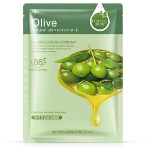 3 PCS Skin Care Plant Facial Mask Moisturizing Oil Control Blackhead Remover Wrapped Mask Face Mask Face Care(Olive)