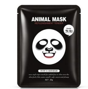 Skin Care Sheep/Panda/Tiger Facial Mask Moisturizing Cute Animal Face Masks(Panda)