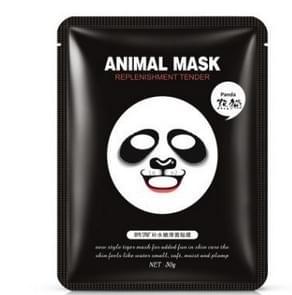 Skin Care Sheep/Panda/Tiger Facial Mask Moisturizing Cute Animal Face Masks(Panda)