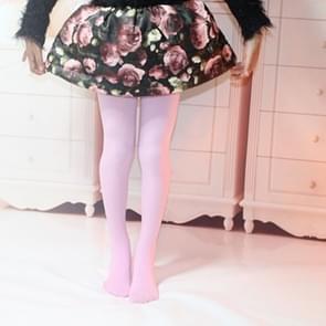 Lente zomer herfst effen kleur panty Ballet dans panty voor kinderen  Size:XL(Pink)