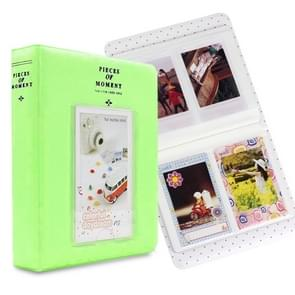 64 Pockets Name Card Pieces for Fujifilm Instax Mini 8 /7s /70 /25 /50s /90(Green)