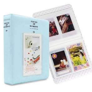 64 Pockets Name Card Pieces for Fujifilm Instax Mini 8 /7s /70 /25 /50s /90(Sky Blue)