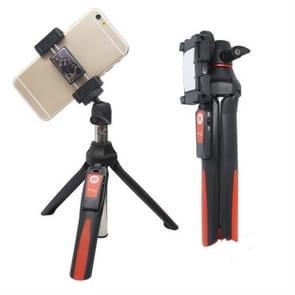 Benro MK10 mobiele telefoon Live Bluetooth Afstandsbediening Selfie Stick Statief (Oranje)