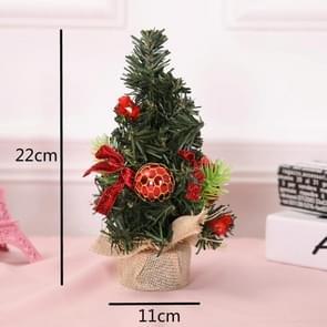 5 PCS kerstversiering kerstversiering kerstboom mini decoratie kerstboom (rood)