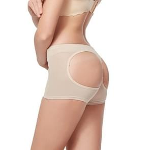3 PC'S dames mesh sexy Shapewear bil Aare ondergoed  maat: XL (beige)