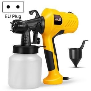 Draagbare hoge druk multifunctionele elektrische desindringspuit spuiten reinigingsspuiter  stekker: EU plug (Geel)