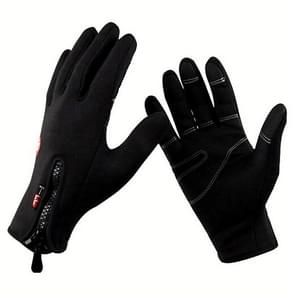 Winter Thermal Anti-slip Windproof Gloves for Riding Mountaineering Neoprene Touchscreen Breathable Gloves, Gloves Size:L(A0044)