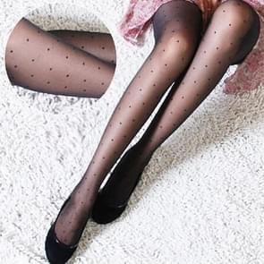 10 Pairs Women Tights Classic Silk Stockings Thin Lady Pantyhose(Small Dot)