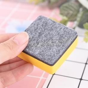 6 PCS Felt Velvet Whiteboard Eraser School Office Supplies
