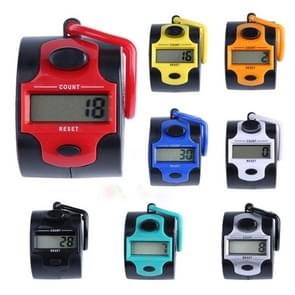 Portable Five-digit Manual Press Electronic Counter(Random Color Delivery)