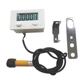 LCD Digital Display Punch Magnetic Induction Reciprocating Rotary Electronic Counter