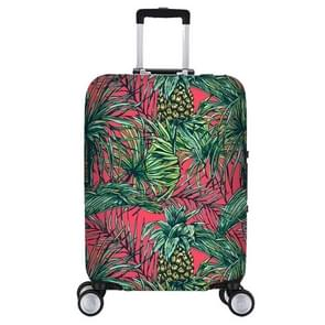 Elastic Trolley Case Dust Cover, Size:M(23-25 inch))(Pineapple)