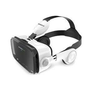 BOBOVR Z4 3D Cardboard Helmet Virtual Reality VR Glasses Headset Stereo Box for Mobile Phone(White)