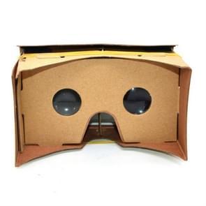 Virtual Reality mobiele telefoon 3D kartonnen bril